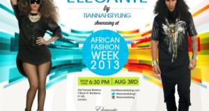Elegante by Tiannahstyling to Showcase 'Freedom' at Africa Fashion Week London