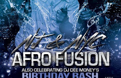 AFRO FUSION STORMS NYC TONIGHT AT CLUB TG.