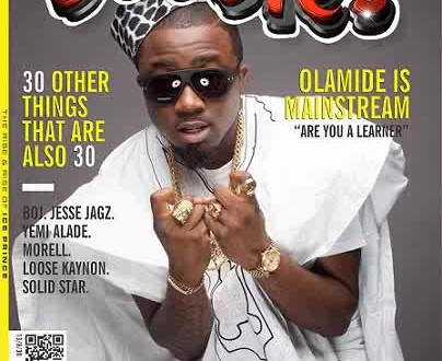 Ice Prince Covers Bubbles Magazine