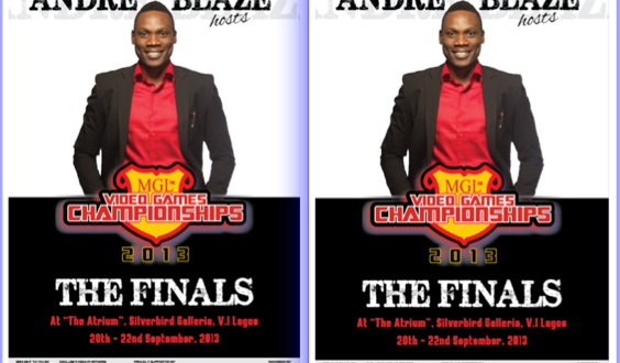 Andre Blaze to Host the MGL Video Games Championships 2013 FINALS (September 20 – 22)