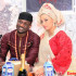 Banky W Performs Yes/No At Peter Okoye & Lola Omotayo's Wedding [VIDEO]